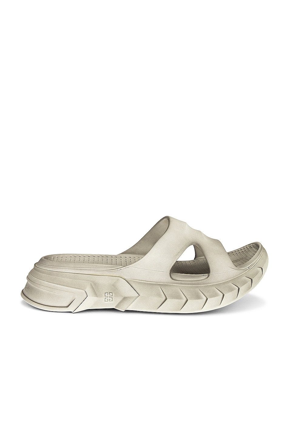 Image 1 of Givenchy Marshmallow Slide Sandal in Cream