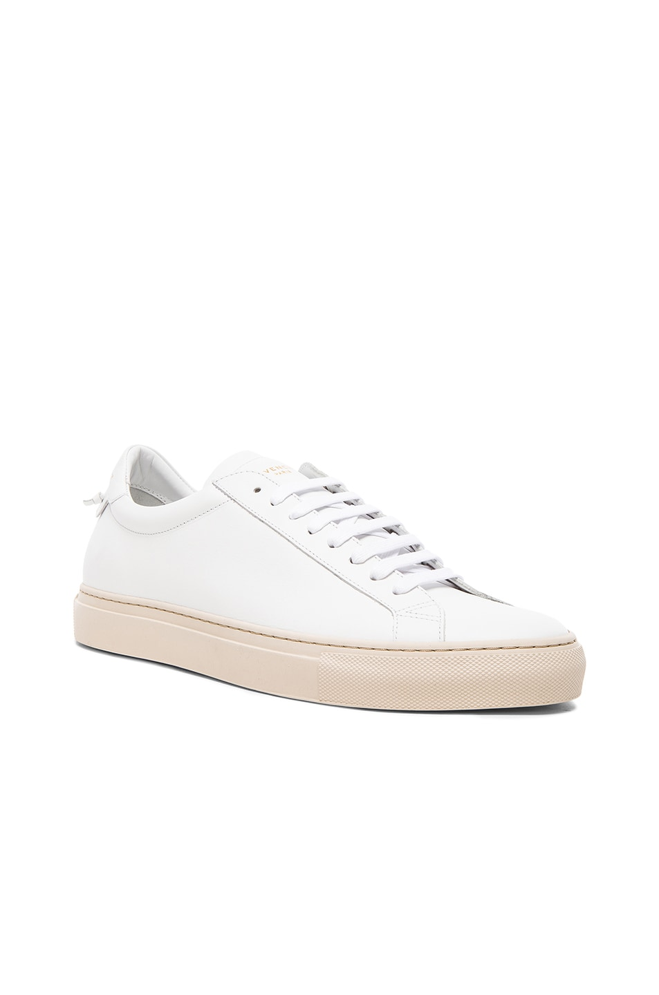 Givenchy Logo Baskets Bas-top - Blanc ed5MC