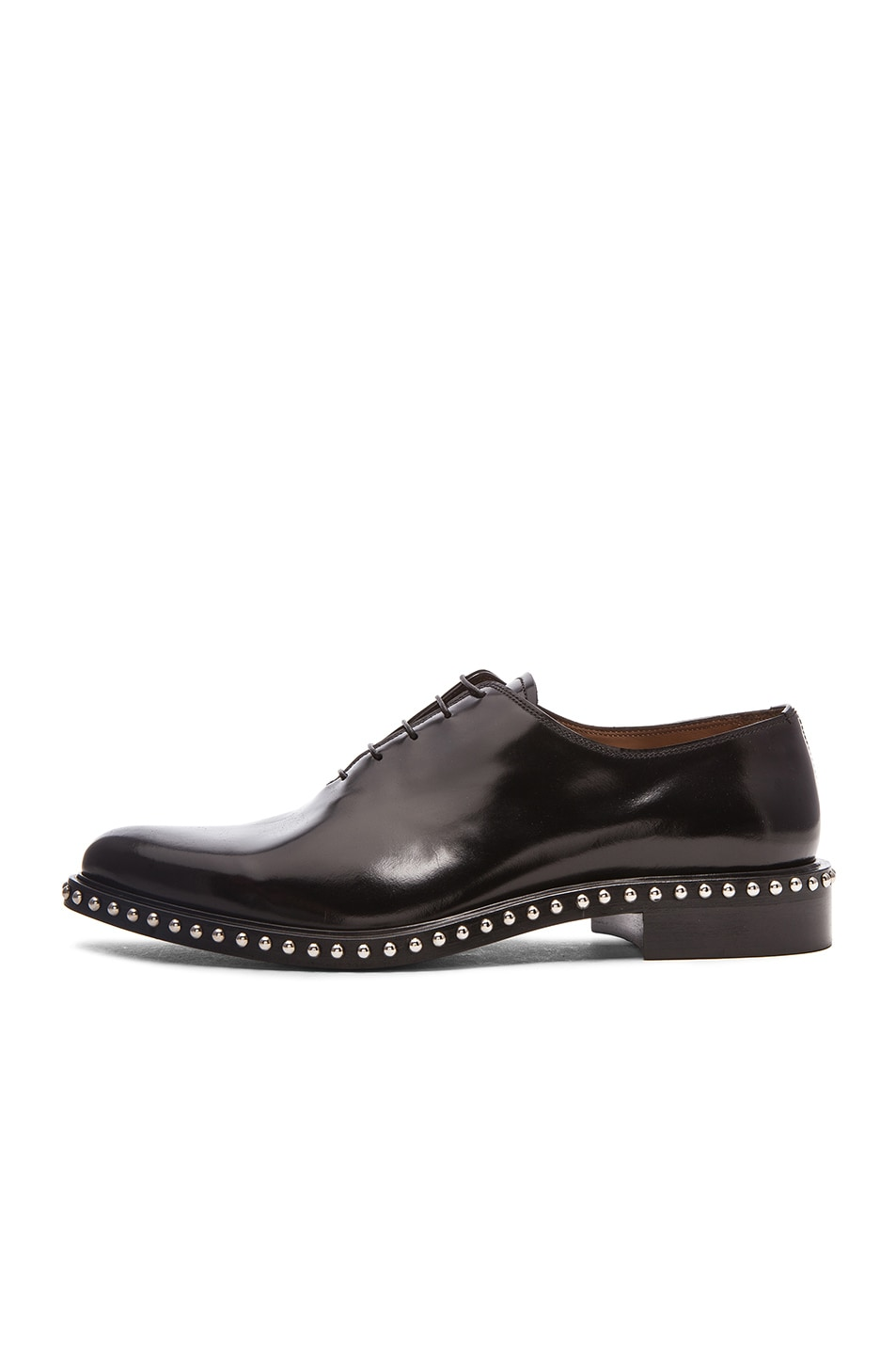 Image 5 of Givenchy Richel Studded Leather Dress Shoes in Black 4f83a6cf53b0