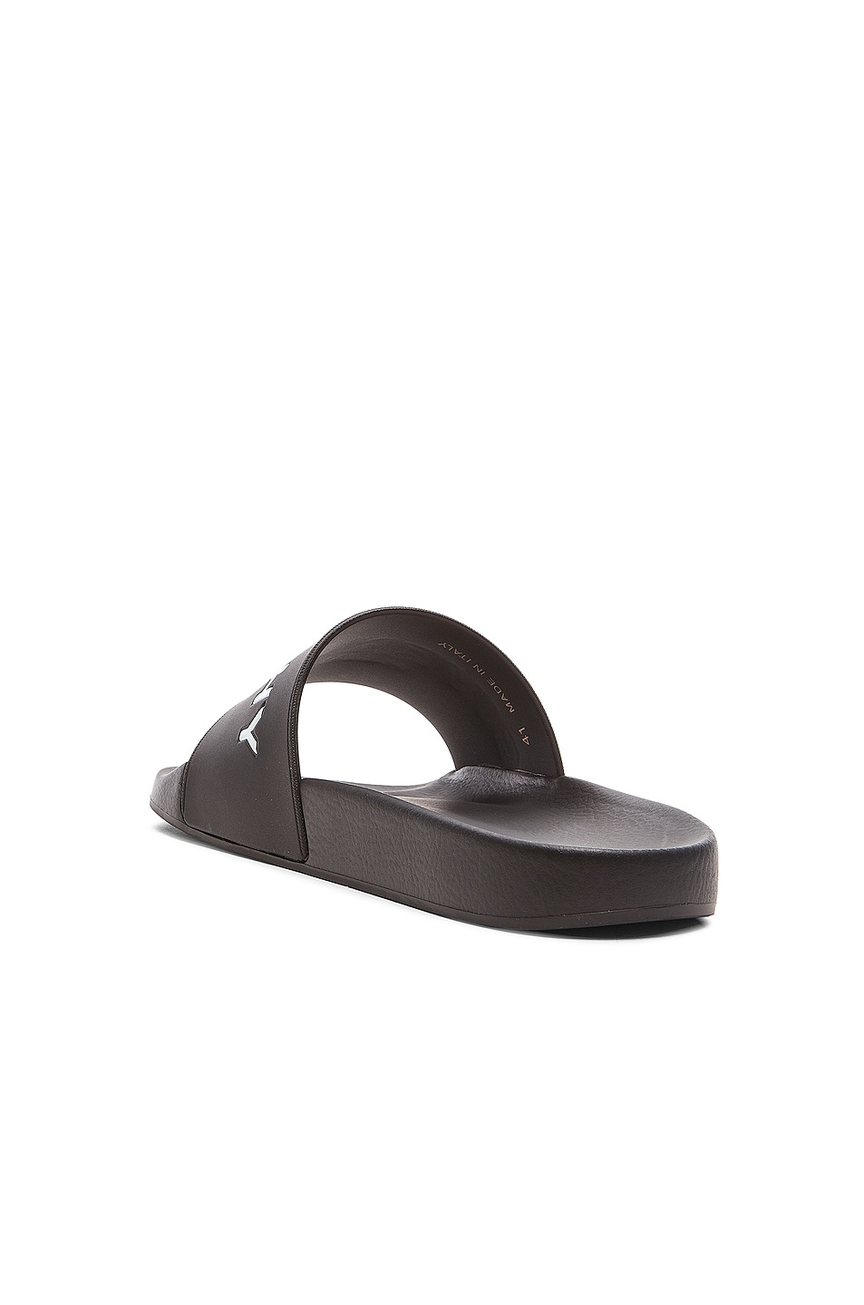 Polyurethane Slide Sandals in White. - size 41 (also in 39,40,42,43,44,45)Givenchy