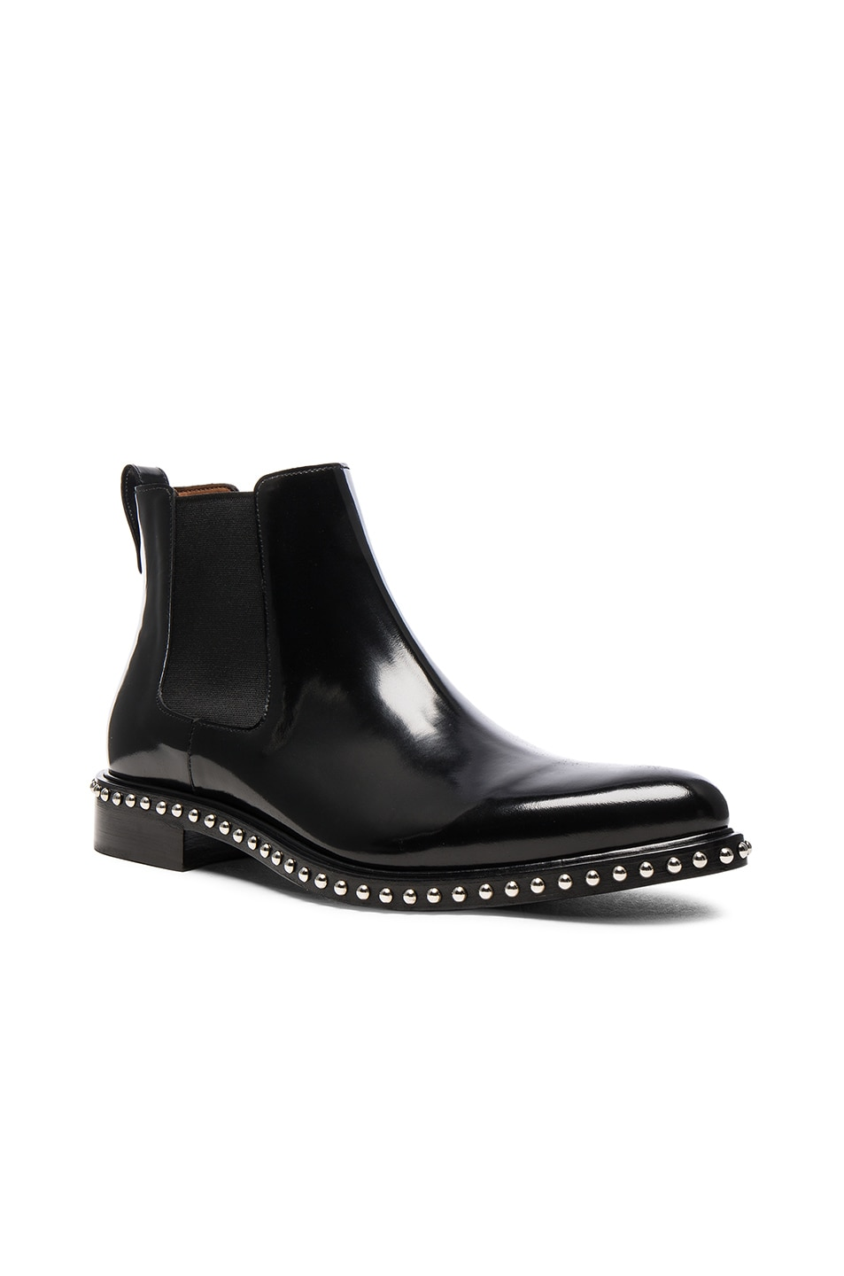 Image 1 of Givenchy Iconic Stud Ankle Boots in Black f3812342fe