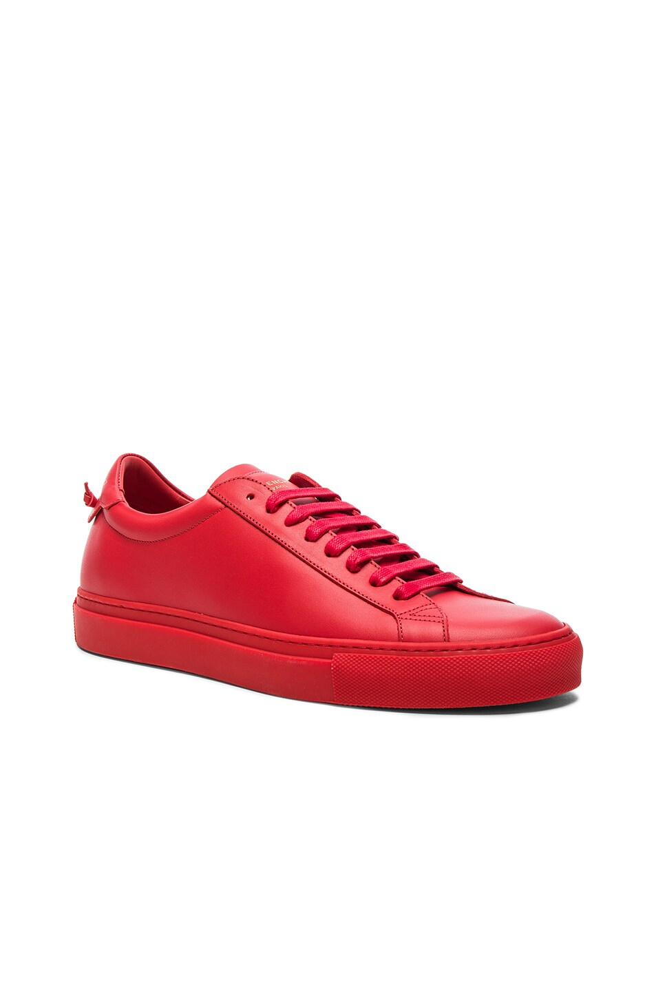 Image 1 of Givenchy Urban Street Low Top Sneakers in Red