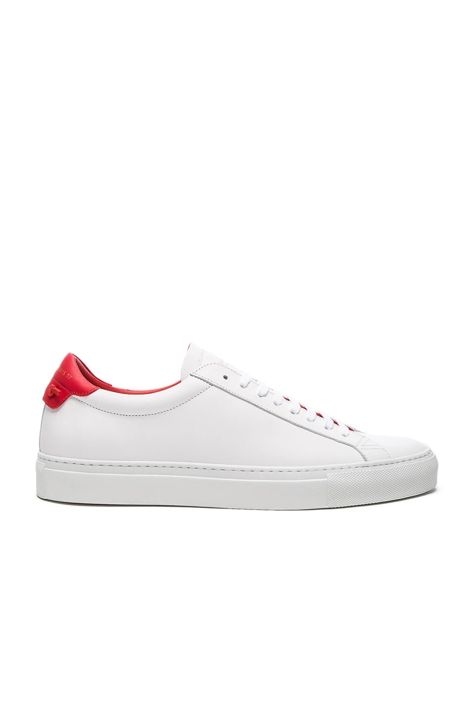 Sneaker URBAN STREET calfskin red white Givenchy