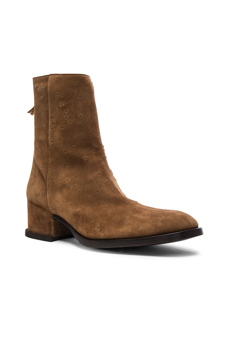 GivenchyShow Suede Boots NTnJNZ