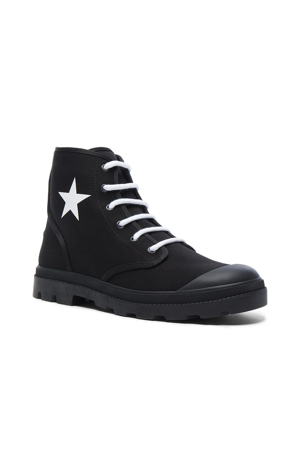 Givenchy Canvas Star Sneaker Boots in . cl6t7mApgf