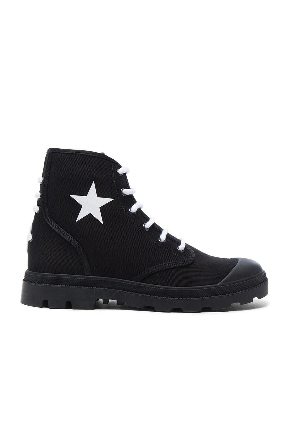Givenchy Canvas Star Sneaker Boots in . OHTabyb