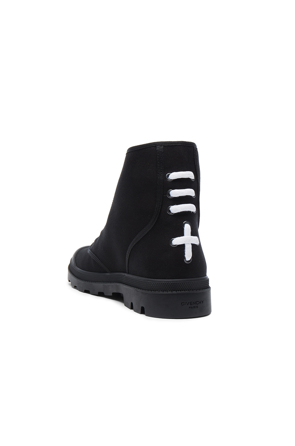 Canvas Star Sneaker Boots in Black Givenchy hClt1VI7d