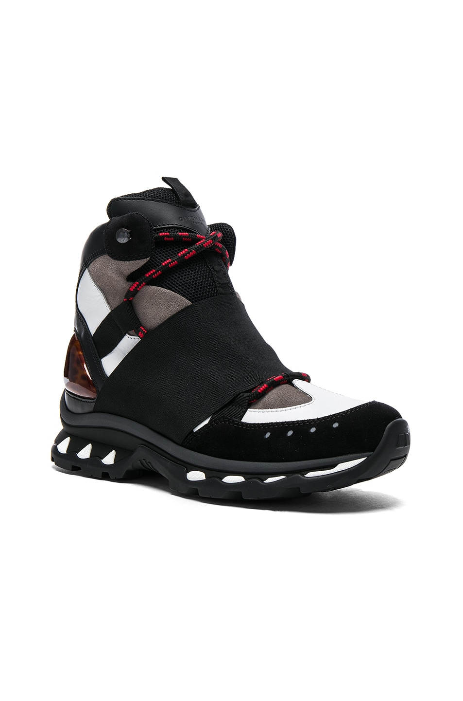 Image 1 of Givenchy Trainer Shoes in Black & White