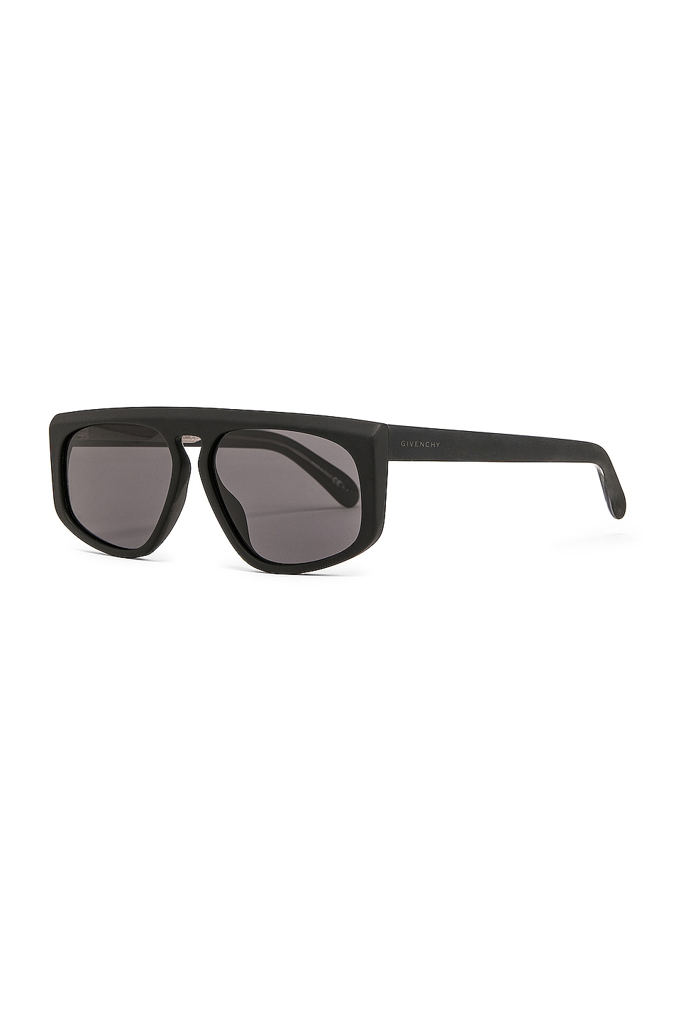 Image 2 of Givenchy Flat Top Sunglasses in Black