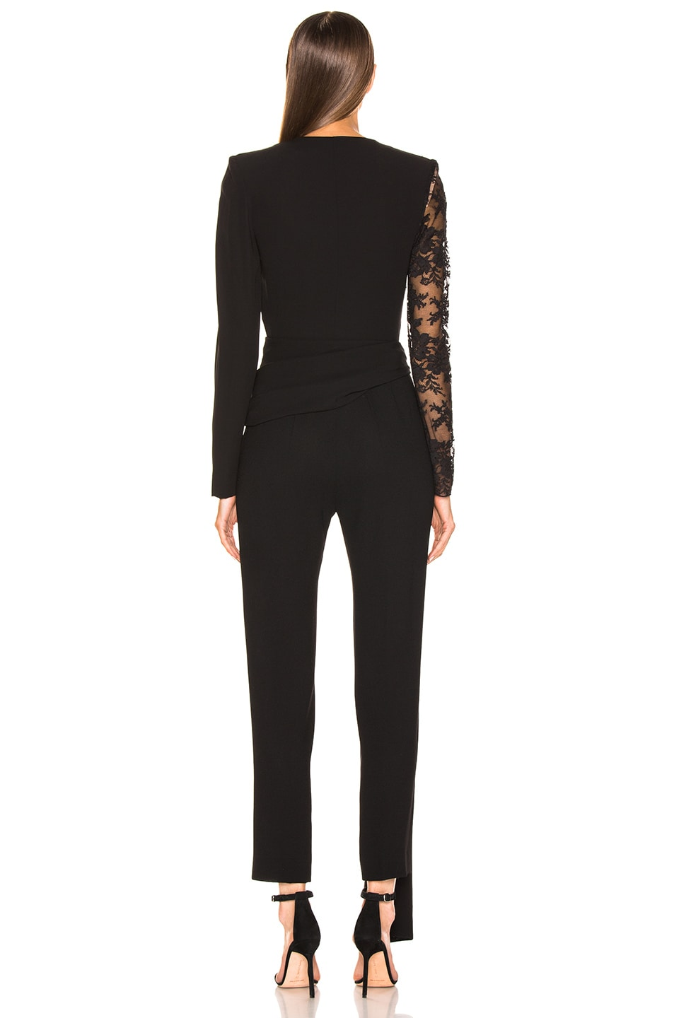 Image 4 of Givenchy Lace Jumpsuit in Black