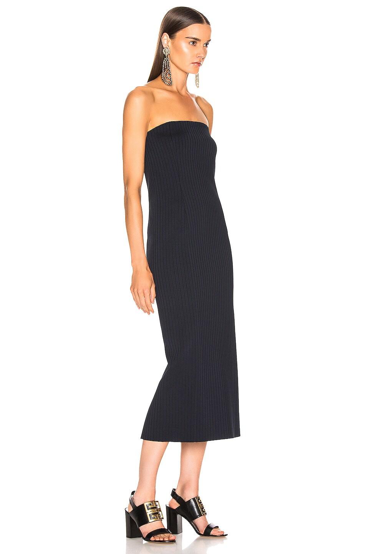Image 2 of Givenchy Rib Long Dress in Navy