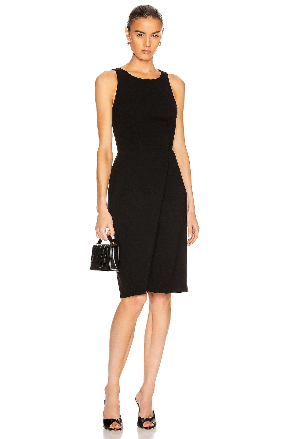 Image 2 of Givenchy Sleeveless Fitted Short Dress in Black