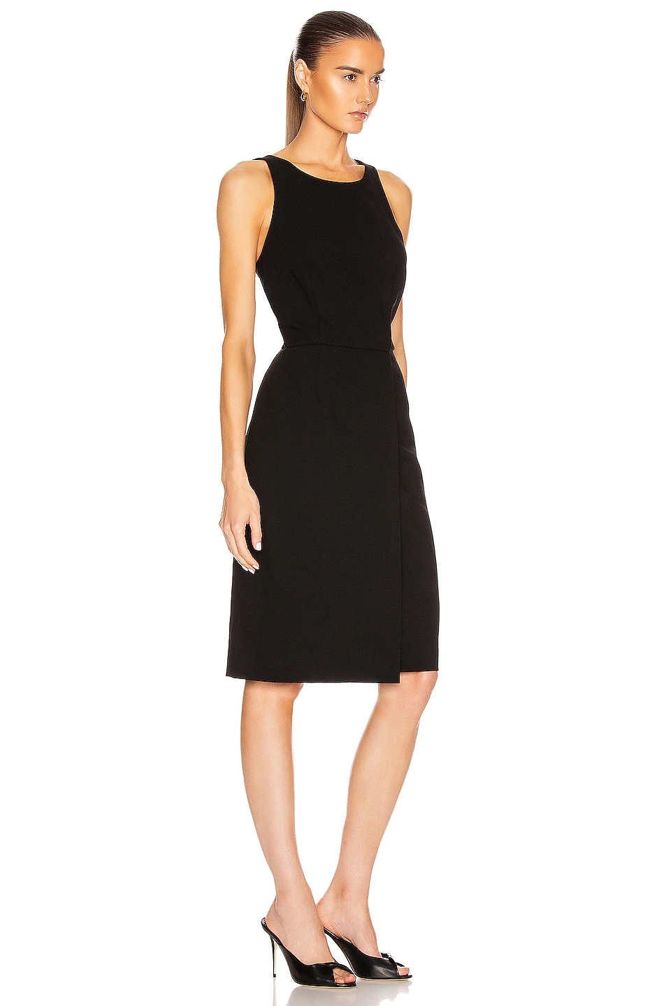 Image 3 of Givenchy Sleeveless Fitted Short Dress in Black