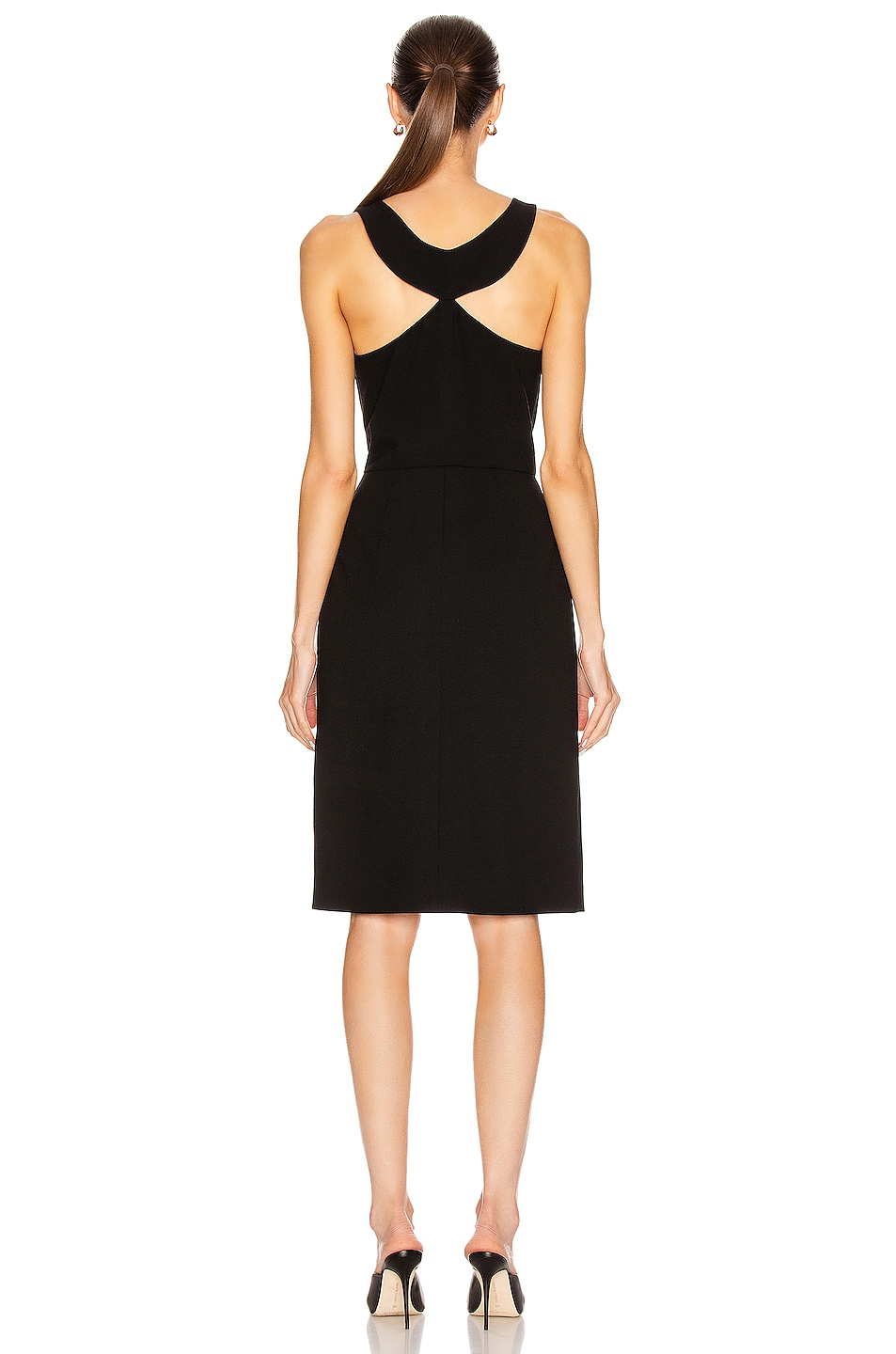 Image 4 of Givenchy Sleeveless Fitted Short Dress in Black