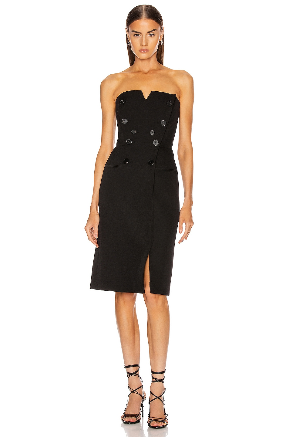 Image 1 of Givenchy Bustier Mini Dress in Black