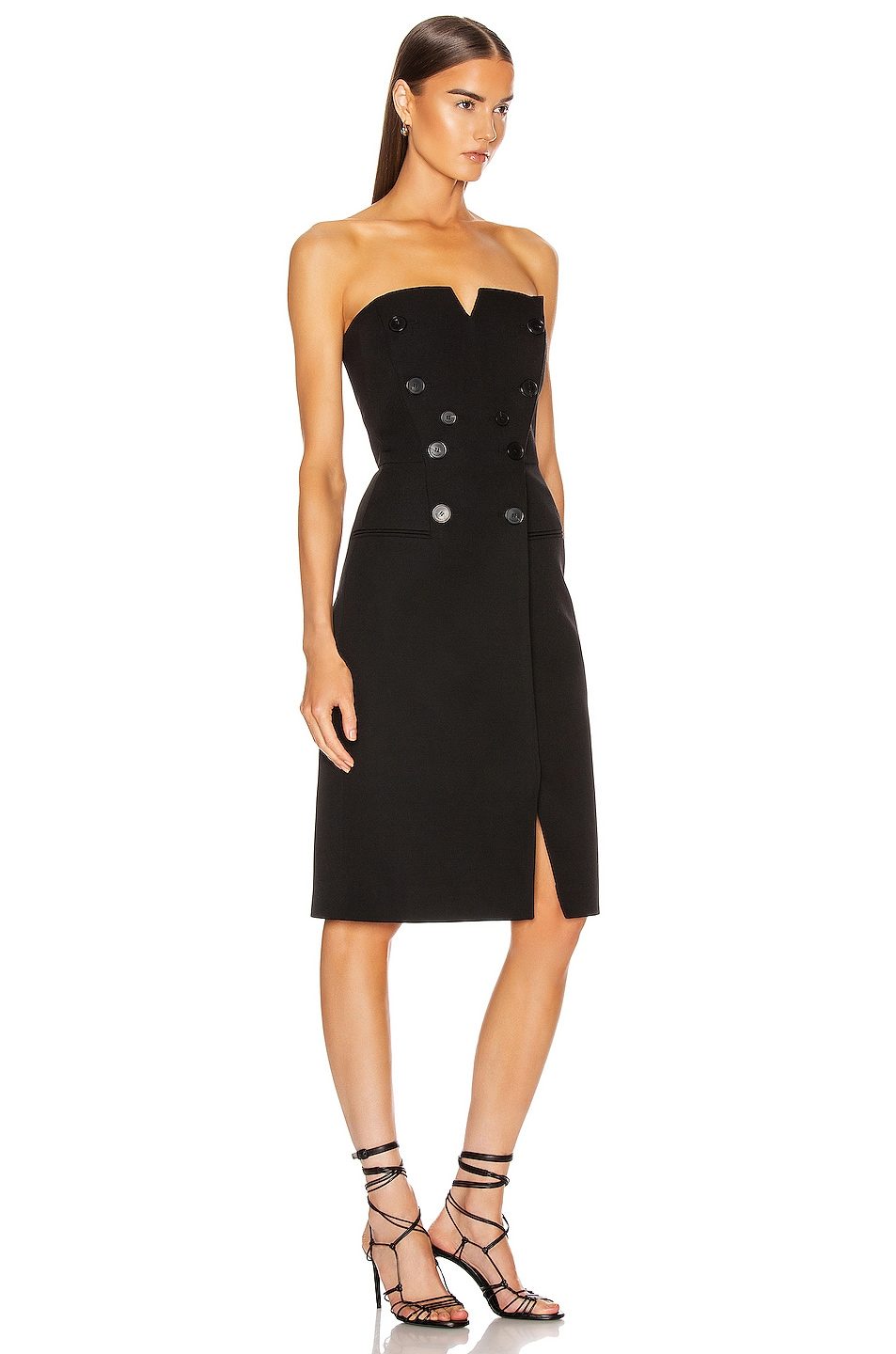 Image 2 of Givenchy Bustier Mini Dress in Black