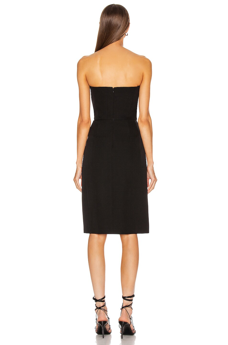Image 3 of Givenchy Bustier Mini Dress in Black