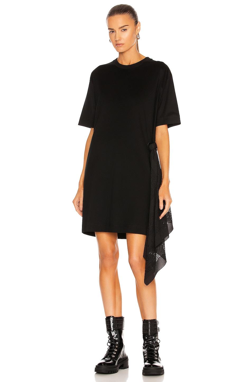 Image 1 of Givenchy Lasercut Bandana T-Shirt Dress in Black