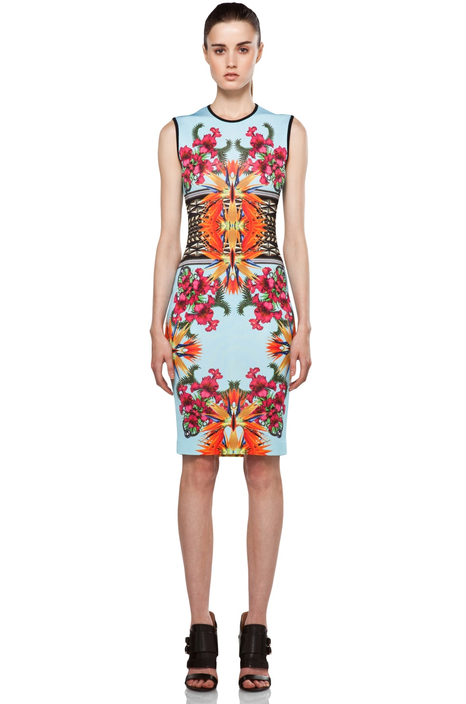 Image 1 of GIVENCHY Fitted Dress in Blue Multi