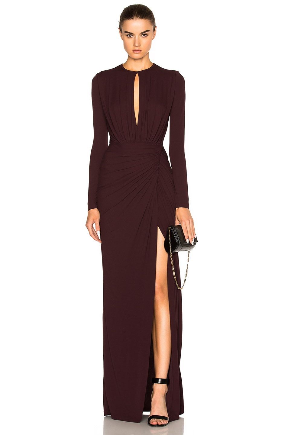 Givenchy Gown in Burgundy | FWRD