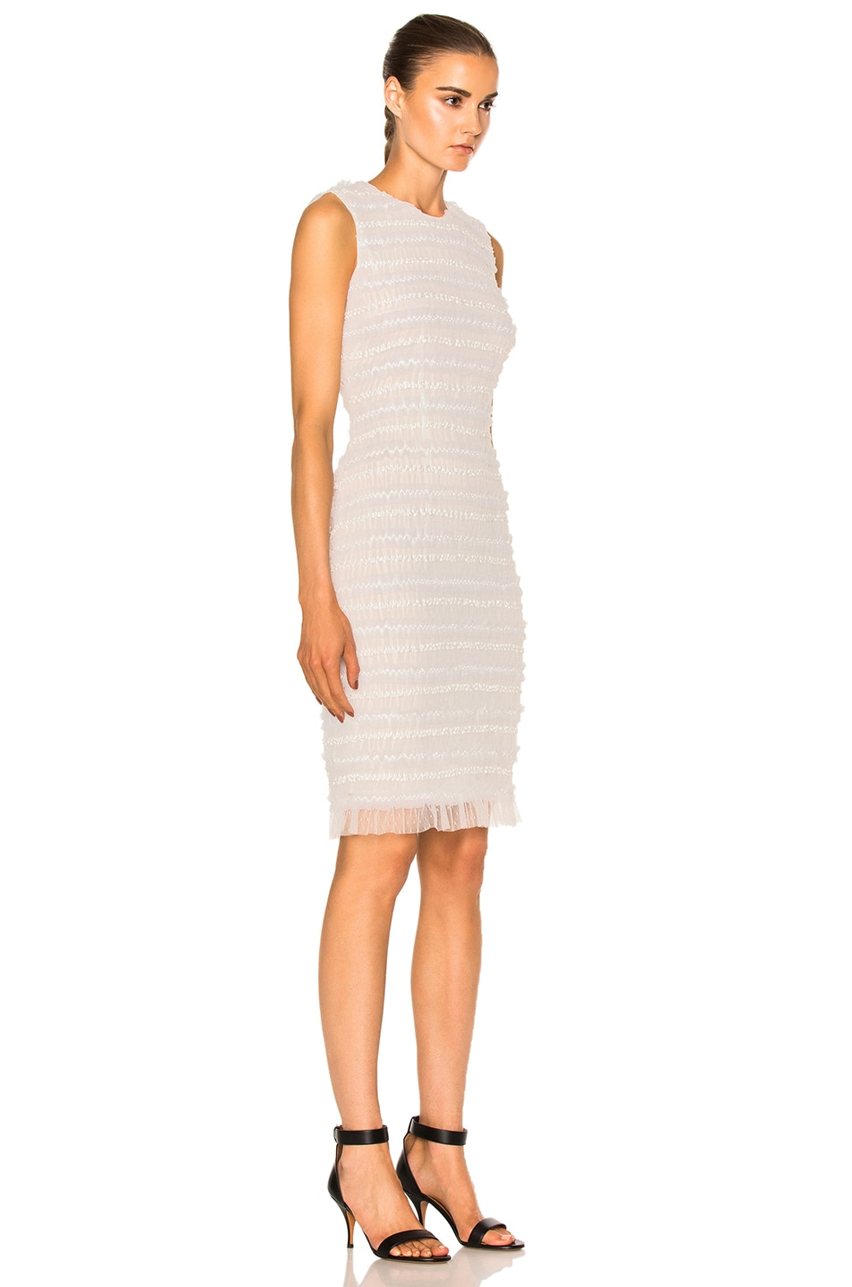 Image 3 of Givenchy Sleeveless Tulle Dress in White