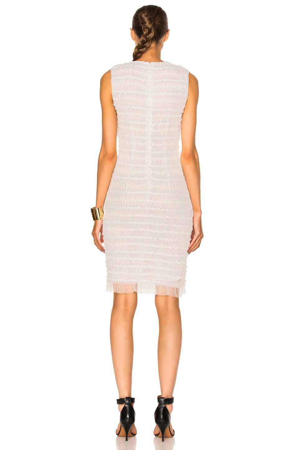 Image 4 of Givenchy Sleeveless Tulle Dress in White