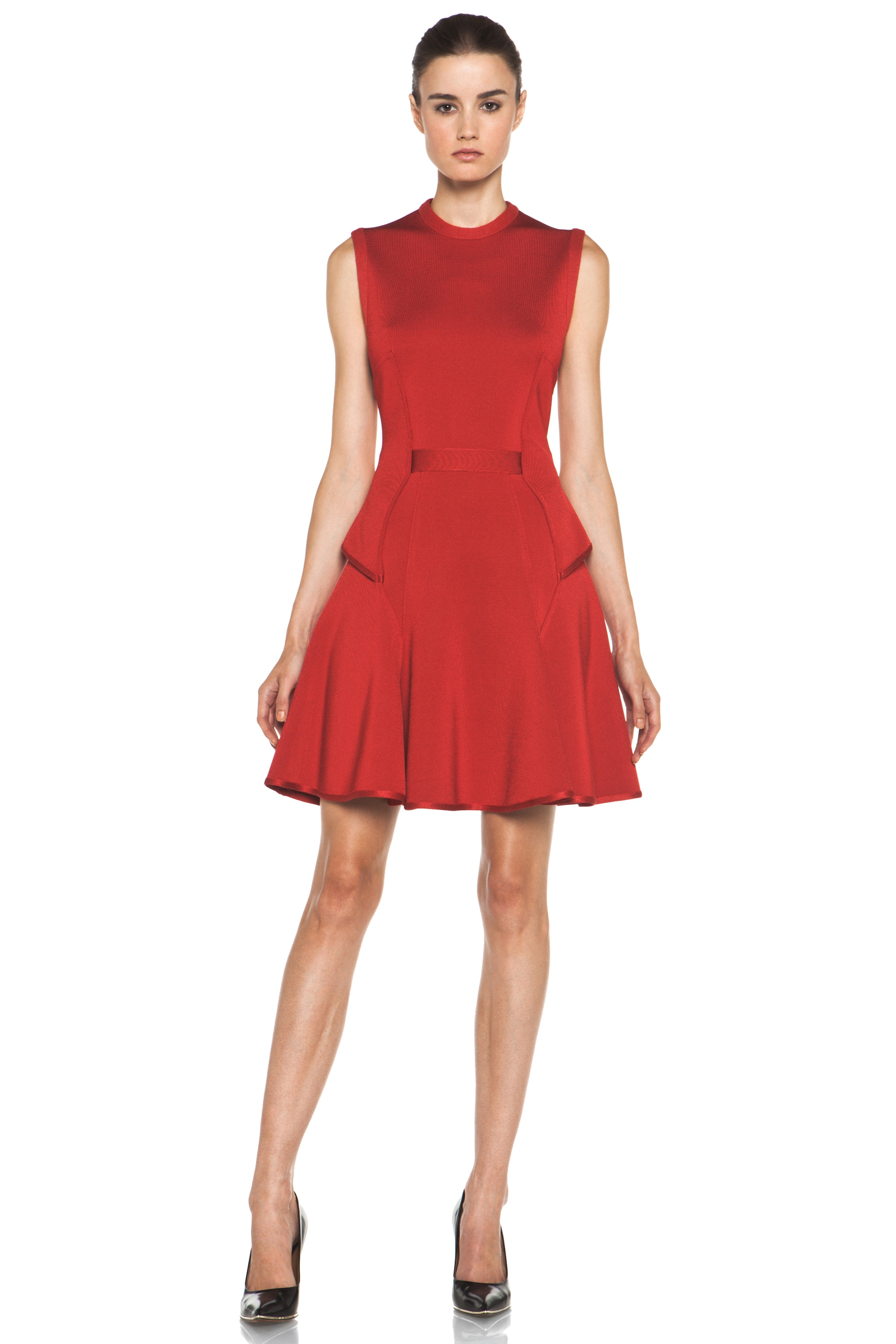 Image 1 of GIVENCHY Knit Dress in Red