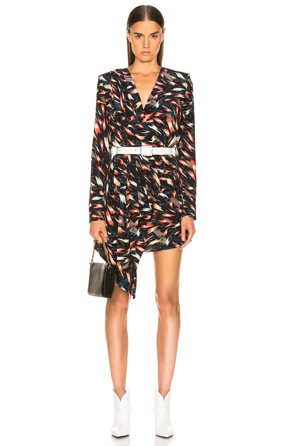 Image 1 of Givenchy Mini Print Dress in Multi