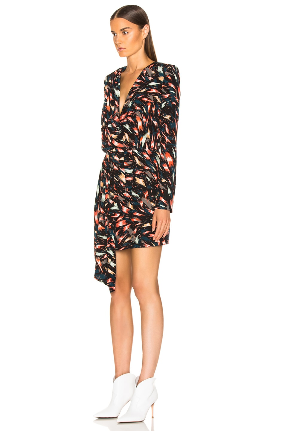 Image 3 of Givenchy Mini Print Dress in Multi