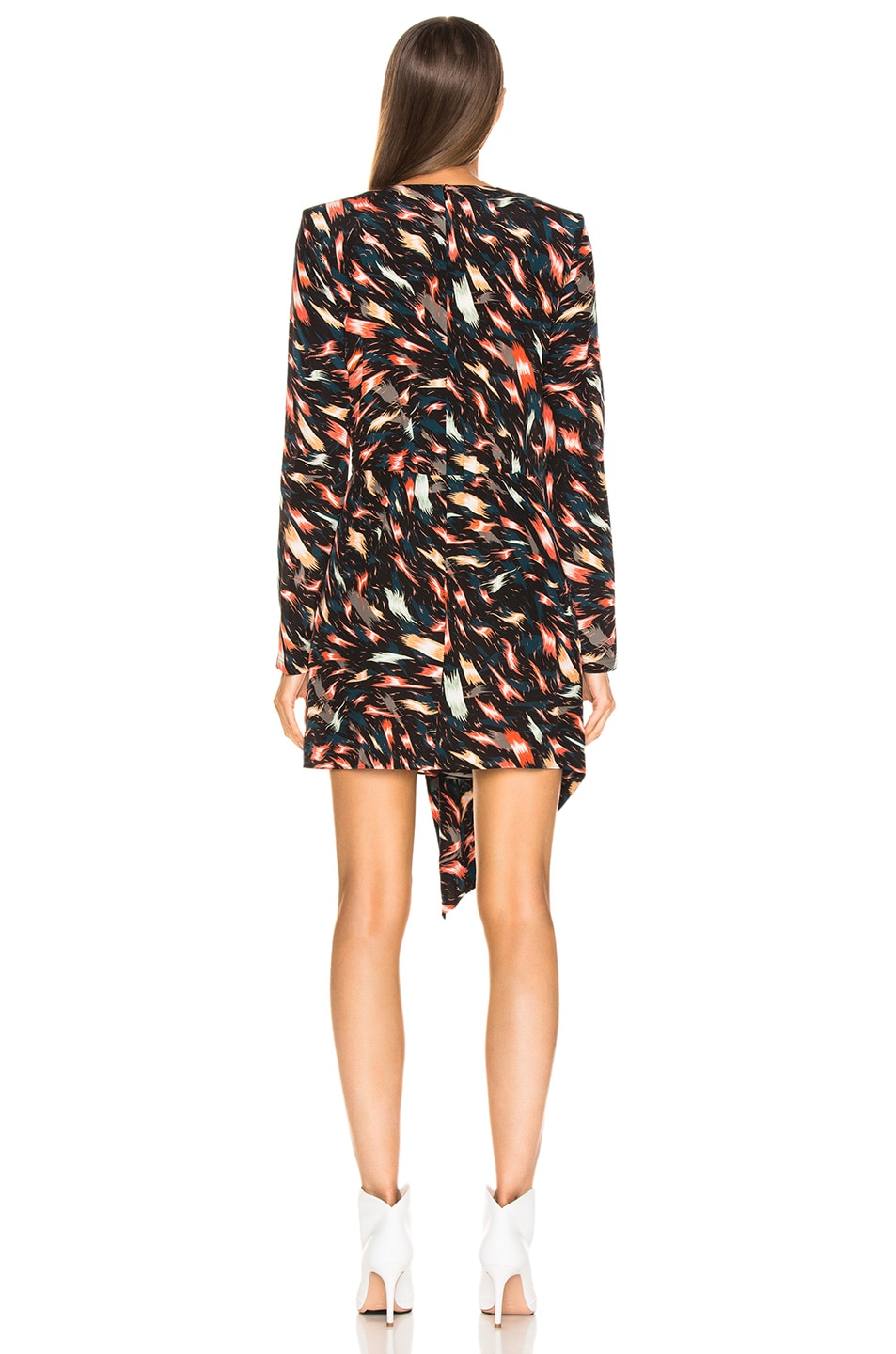 Image 4 of Givenchy Mini Print Dress in Multi