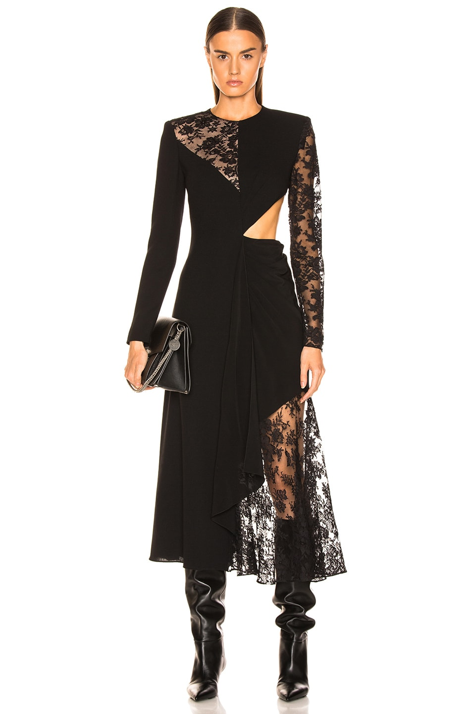 Image 1 of Givenchy Lace Dress in Black