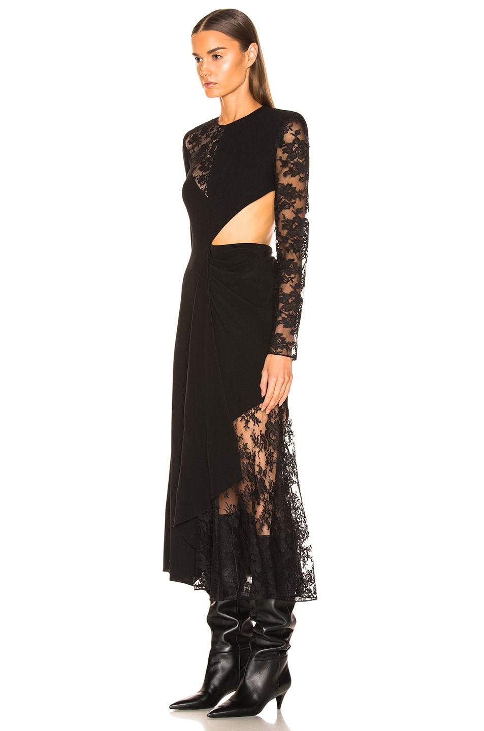 Image 3 of Givenchy Lace Dress in Black
