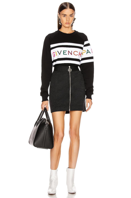 Image 5 of Givenchy Longsleeve Sweatshirt in Black & White