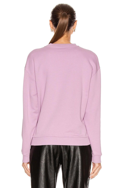 Image 3 of Givenchy Long Sleeve Sweatshirt in Mauve