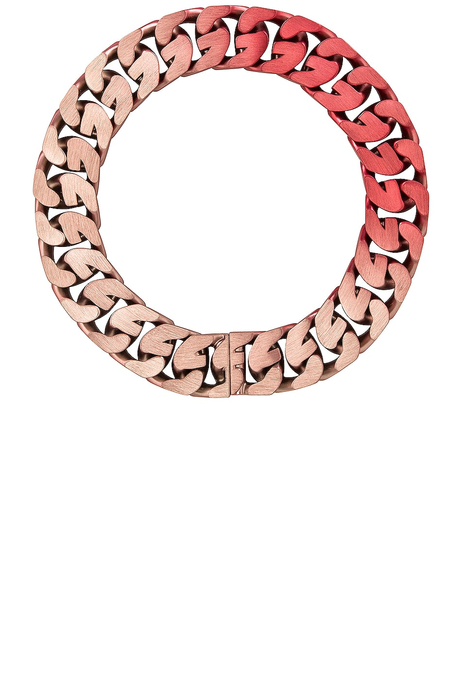 Image 1 of Givenchy G Chain Medium Necklace in Light Pink