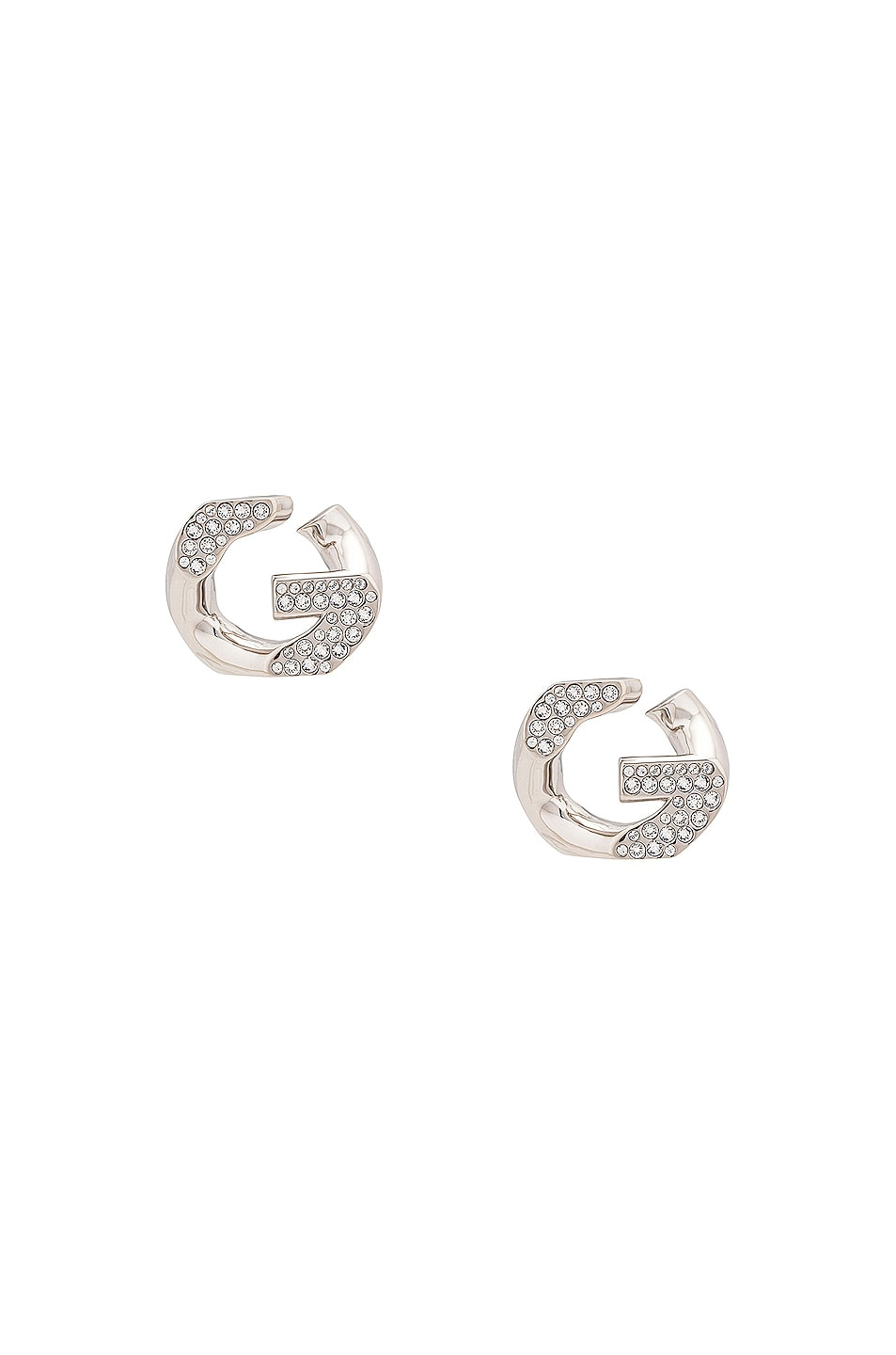 Image 1 of Givenchy G Chain Earrings in Silver