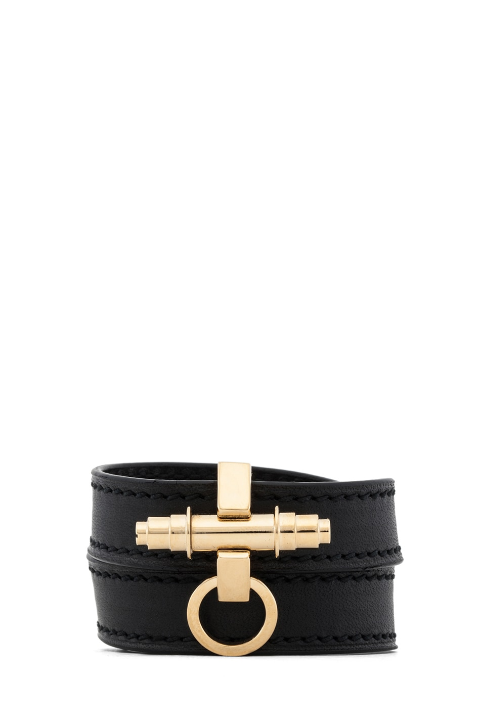 bd686680b8 Image 1 of Givenchy Obsedia 3 Row Bracelet in Black