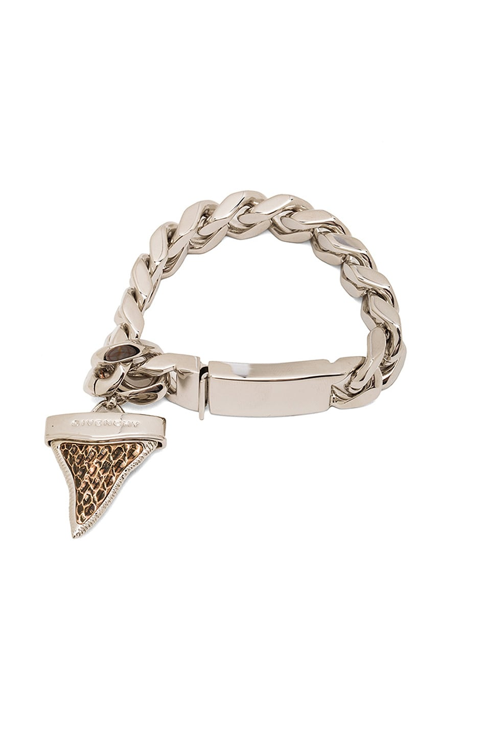 Image 1 of GIVENCHY Vintage Shark Tooth Bracelet in Multi