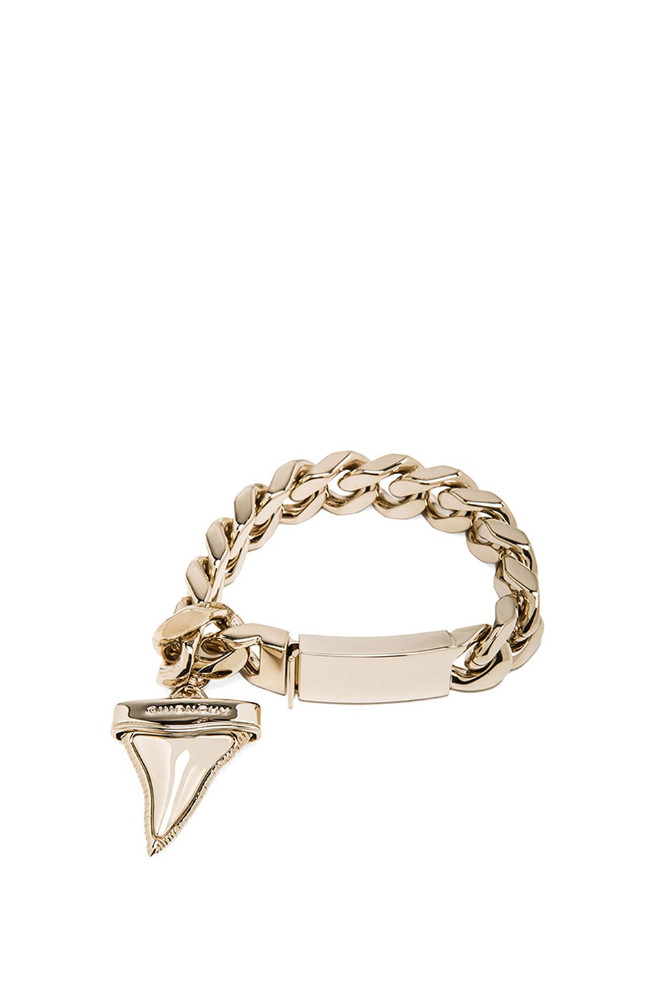 Image 1 of GIVENCHY Shark Tooth Bracelet in Gold