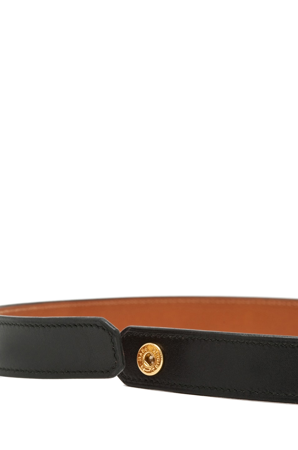 Image 4 of Givenchy 3-Row Bracelet in Black Leather