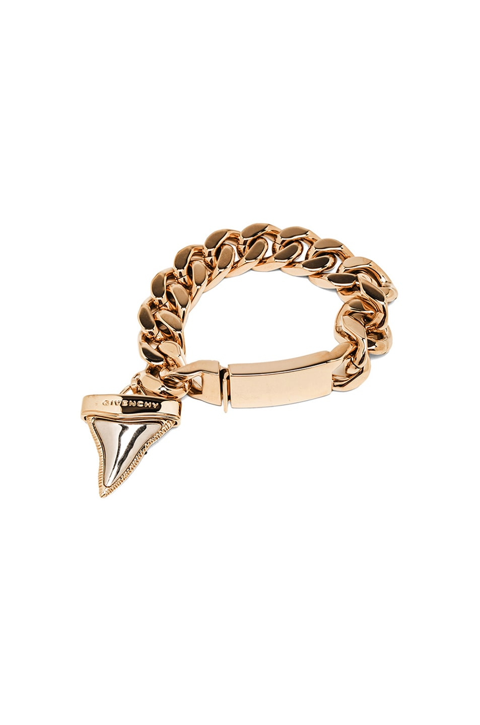 Image 1 Of Givenchy Shark Tooth Bracelet In Multi