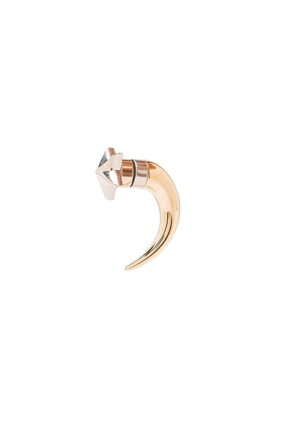 Image 1 of GIVENCHY Single Small Star Shark Tooth Earring in Multi