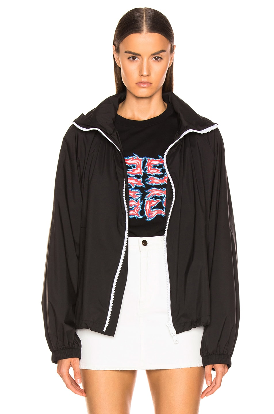 Image 2 of Givenchy Rain Jacket in Black