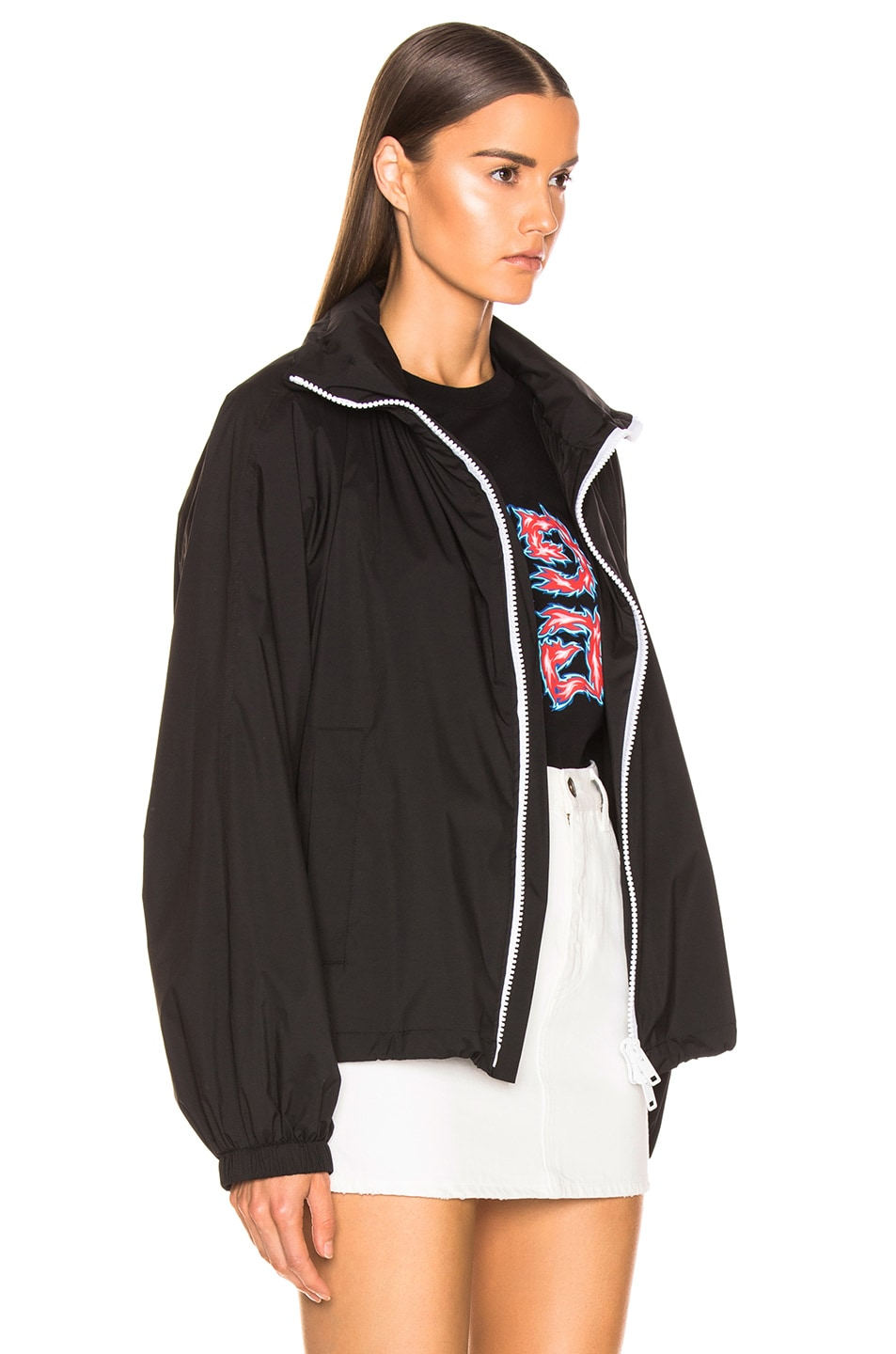 Image 4 of Givenchy Rain Jacket in Black