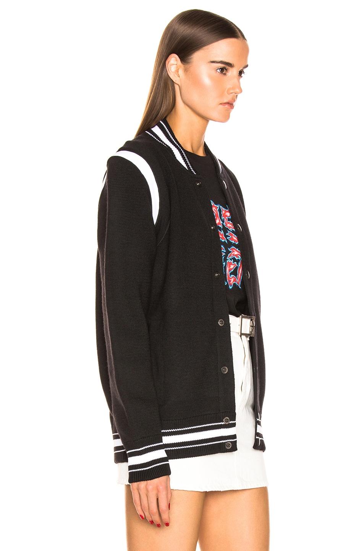 Image 4 of Givenchy Varsity Jacket in Black & White