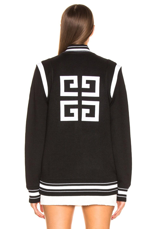 Image 5 of Givenchy Varsity Jacket in Black & White