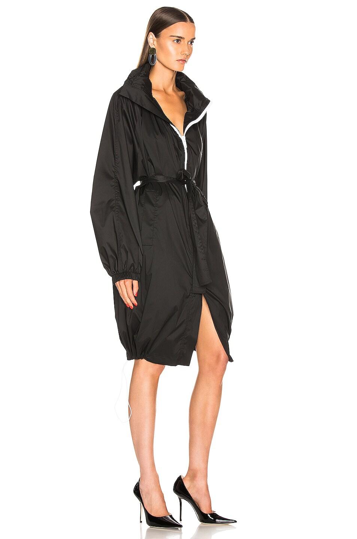 Image 3 of Givenchy Logo Windbreaker Jacket in Black