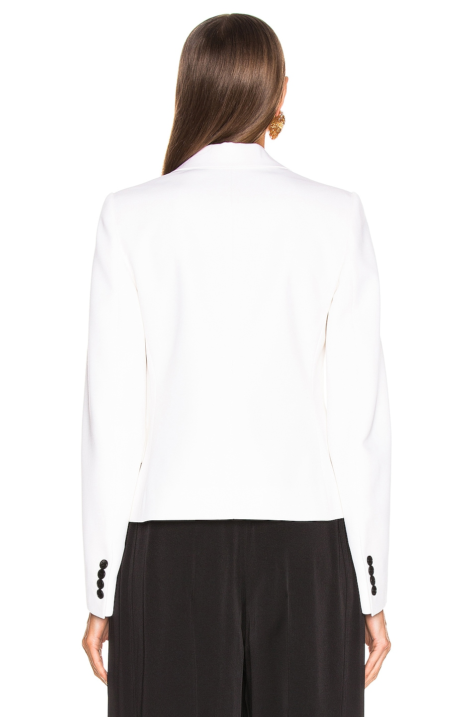 Image 4 of Givenchy One Button Jacket in Black & White