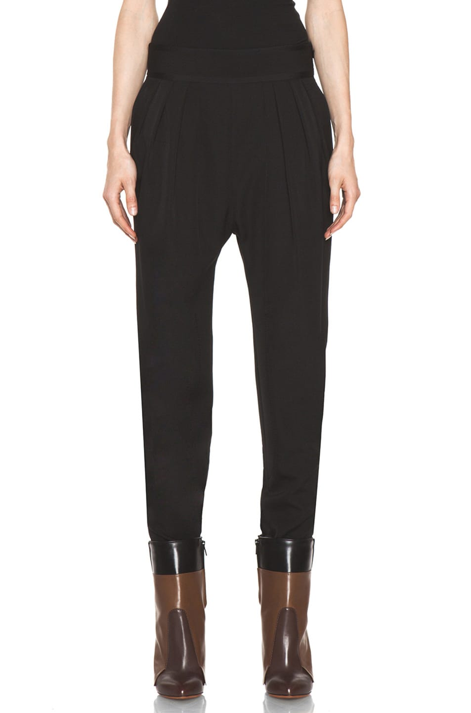 Image 1 of GIVENCHY Sarouel Pant in Black
