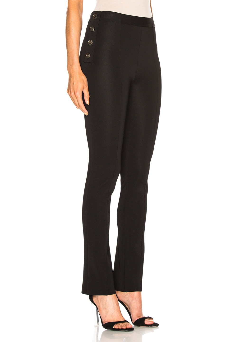 Image 2 of Givenchy Slim Trousers in Black